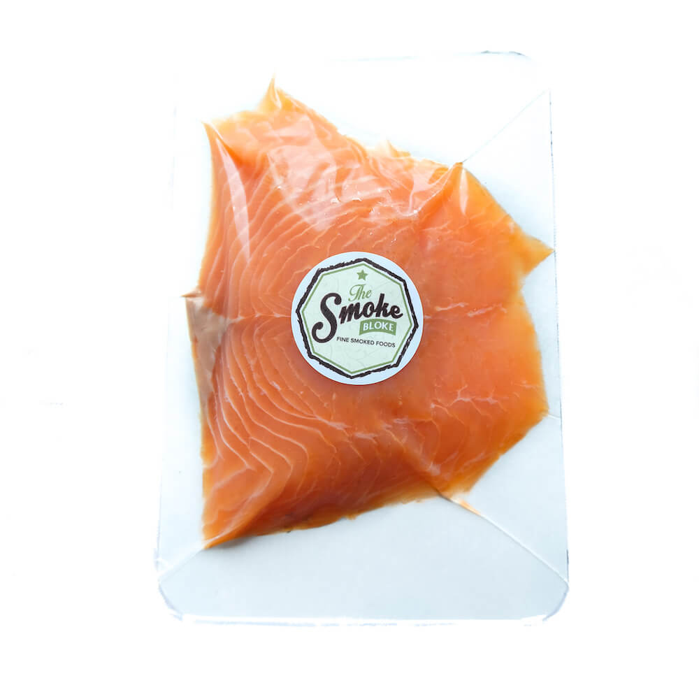 Cold Smoked Salmon 227g -Frozen- The Smoke Bloke
