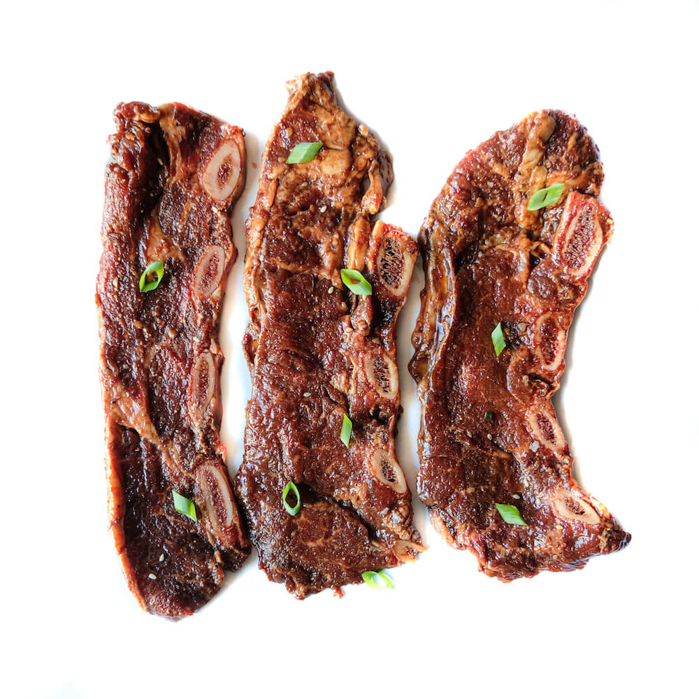 Marinated Korean Style Short Ribs