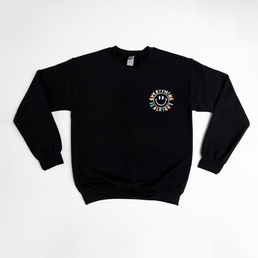 Everything Alright Adult Crewneck Sweater