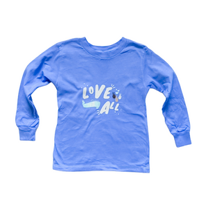 Love For All Kids Lavender Long-Sleeved Shirt