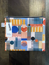 Load image into Gallery viewer, Multicolour 'Play' print pouch