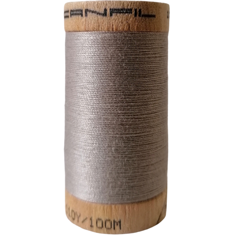 Organic Cotton Thread Pewter