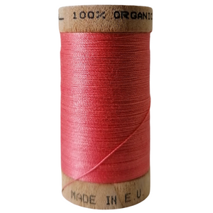 Organic Cotton Thread Coral