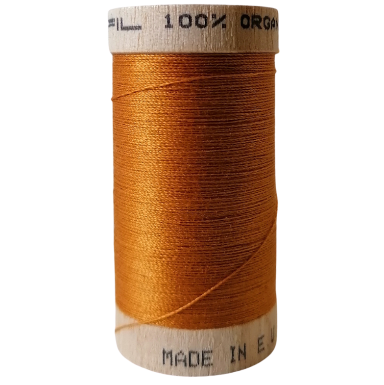 Organic Cotton Thread Cinnamon