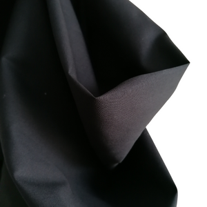 Organic Cotton Poplin Black