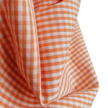 Load image into Gallery viewer, Organic Cotton Gingham Mandarin