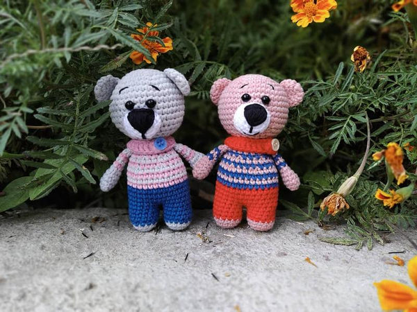 Handmade Crochet Teddy Bears