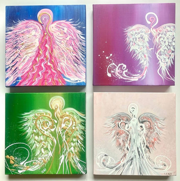 Original Paintings by Award Winning Artist / My Little Angel Collection
