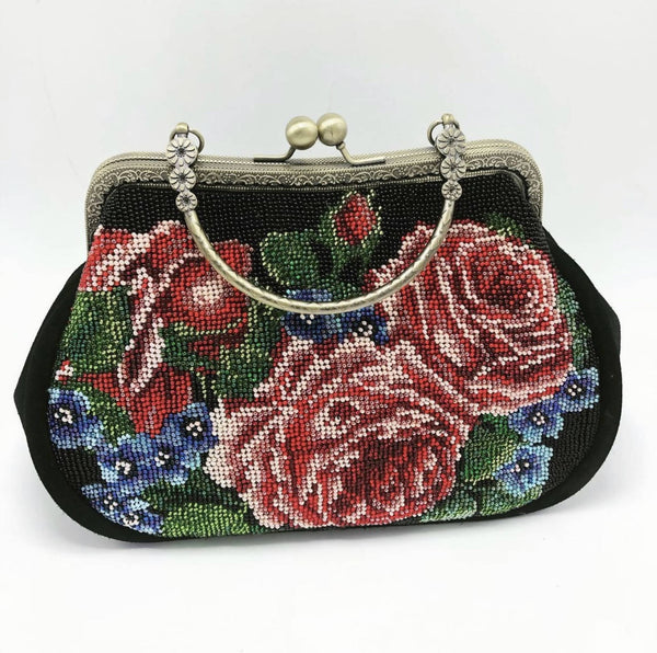 "Mini- purse ""Rose""/ Міні- клатч « Рози»"