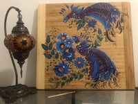 Cutting board bamboo 50x46cm