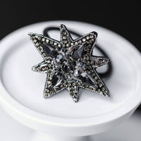 "Hair tie ""Black Star"""