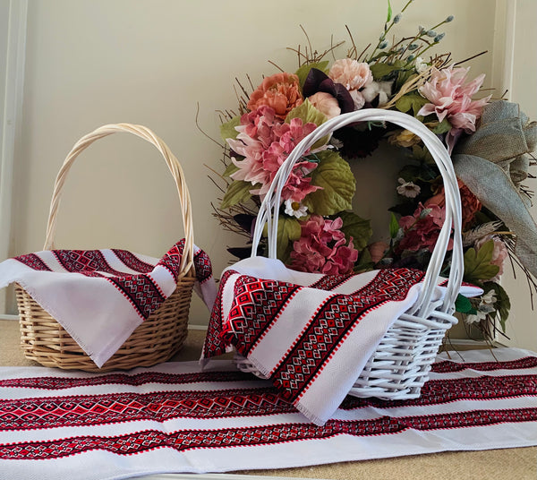Easter Basket Cover and Table Runner