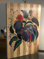 "Decorative Bamboo cutting board 11""x15"" (27.7cm x 38cm)"