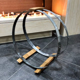 2 Pack x Hoop Wood Basket - Free Shipping
