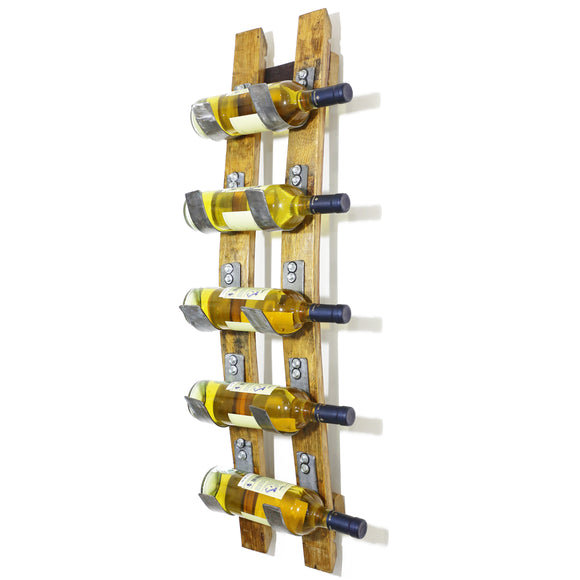 5-Bottle Stave Display - Free Shipping