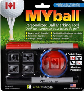 MYball (The Canadian Patriot Series Design)