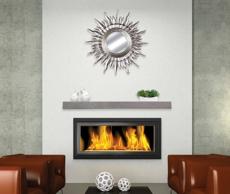 Fireplace Mantel Shelf in modern living room