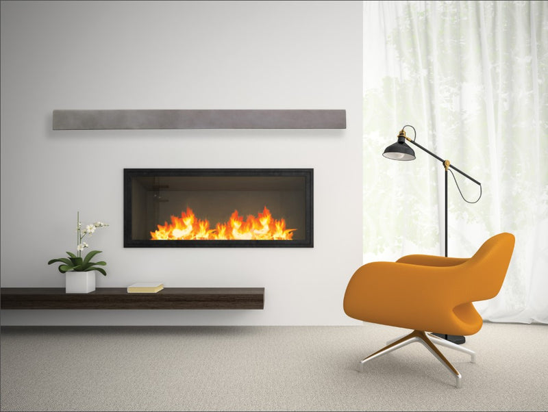 Fireplace Mantel Shelf in contemporary setting