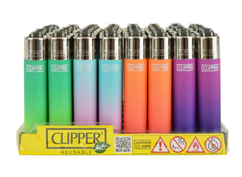 Clipper Lighter - Disposable and Refillable