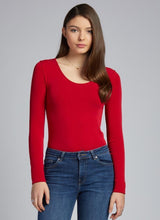 Load image into Gallery viewer, CCT Bamboo scoop neck long sleeve