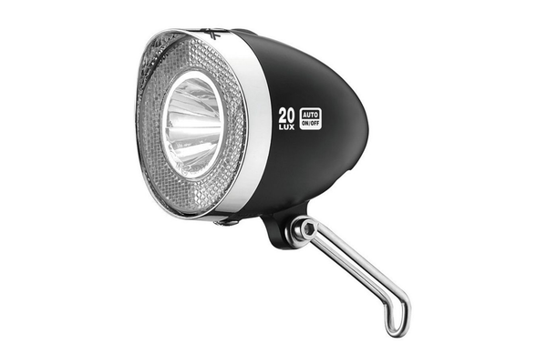 XLC Retro LED 20Lux on/off, svart