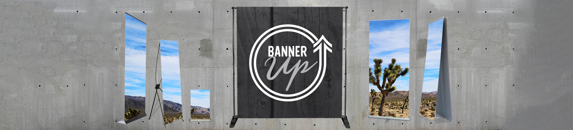Banner + Stands