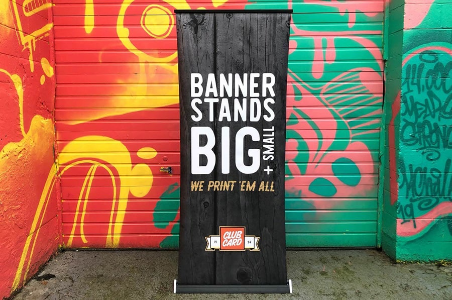 Banner Stands With Modern, Minimalist Style
