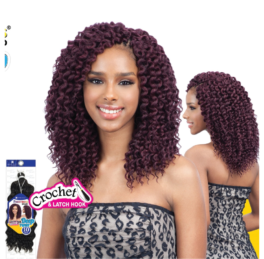 "Load image into Gallery viewer, FREETRESS DEEP TWIST BRAID 10"" / CROCHET"
