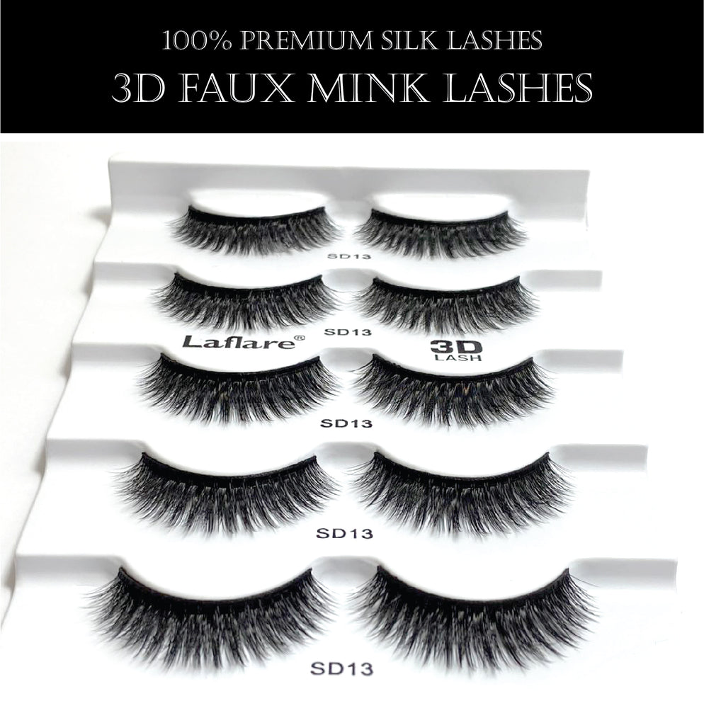 3D FAUX MINK LASHES VALUE PACK-13X5P