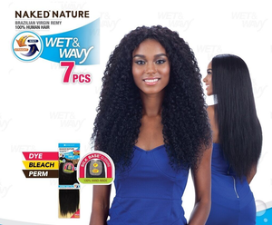 WET & WAVY BEACH CURL 7PCS 18/20/22""