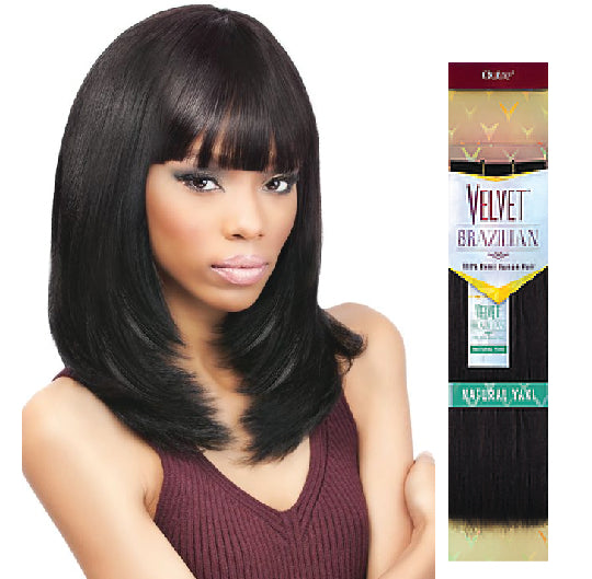 Load image into Gallery viewer, VELVET BRAZILIAN REMI NATURAL YAKI 10S