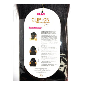 TINA CLIP-ON 7PCS 12""