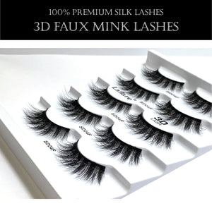 Load image into Gallery viewer, 3D FAUX MINK LASHES VALUE PACK-4FX5P