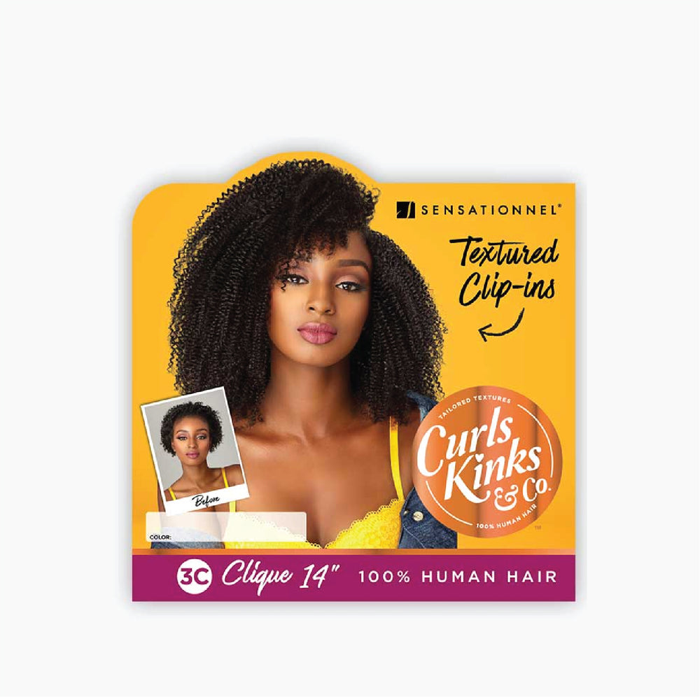 "Load image into Gallery viewer, HH 3C CLIQUE - CURLS KINKS & CO 14"", 18"""