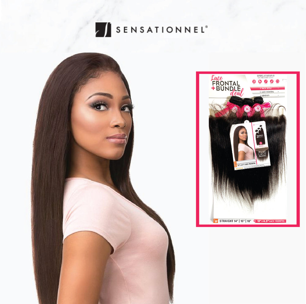 LACE CLOSURE BUNDLE DEAL STRAIGHT 13X4