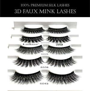 Load image into Gallery viewer, 3D FAUX MINK LASHES VALUE PACK-HSR5P