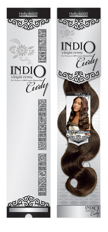 HOLLYWOOD INDIO VIRGIN REMY CURLY SOFT BODY 12""