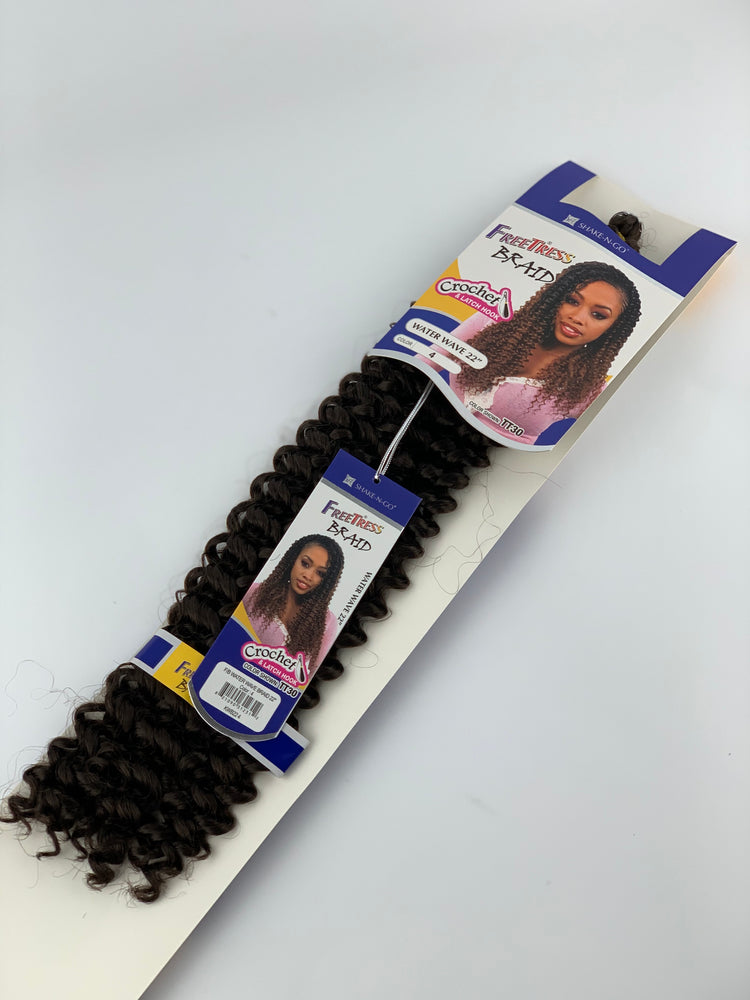 "WATER WAVE BRAID 22""/CROCHET"