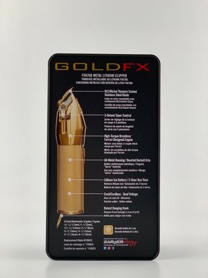 GOLD FXMETAL LITHIUM CLIPPER FX870G