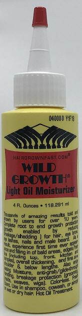 LIGHT OIL MOISTURIZER 4 OZ