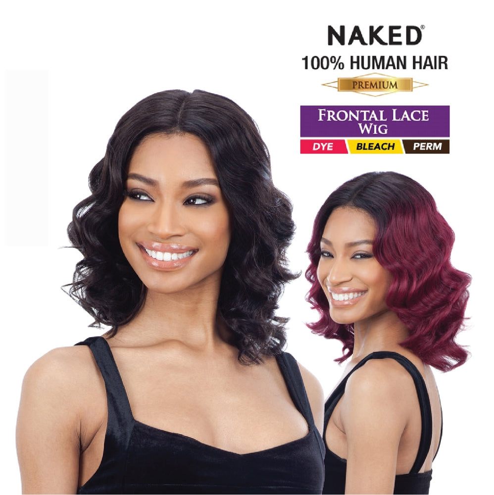 Natural Human Hair Front Lace Wig DELILAH