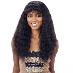 NATURE W&W WIG DEEP CURL W/BANG
