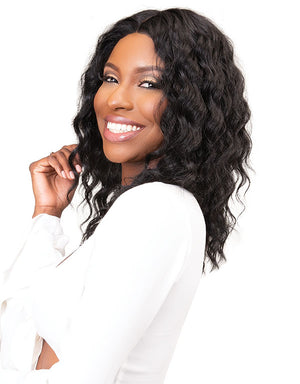 Load image into Gallery viewer, REMY DEEP PART LACE DEEP WIG 16""