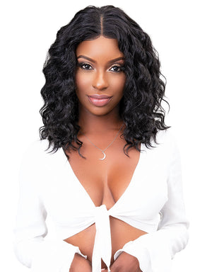 REMY DEEP PART LACE DEEP WIG 18""