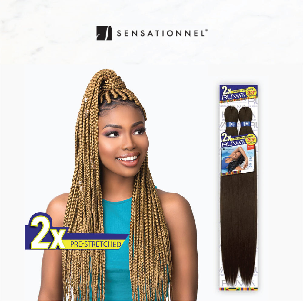 2X RUWA PRE-STRETCHED BRAID 30""