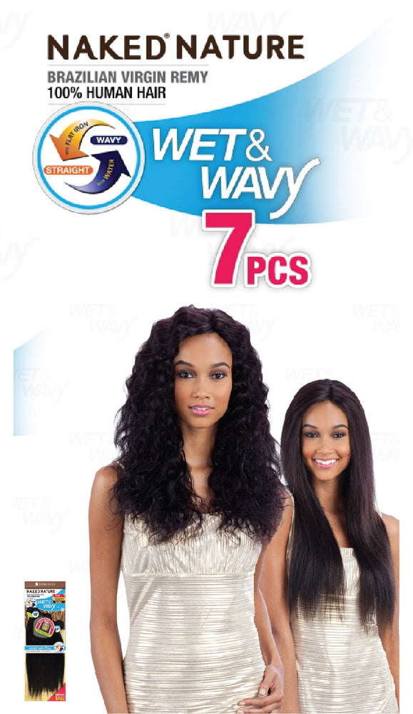 WET & WAVY LOOSE CURL 7PCS 14/16/18""