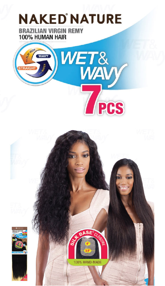 WET & WAVY LOOSE CURL 7PCS 18/20/22""