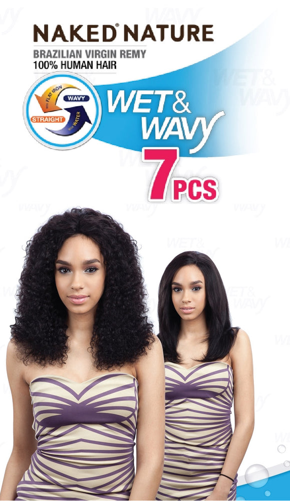 WET & WAVY DEEP WAVE 7PCS 10/12/14""
