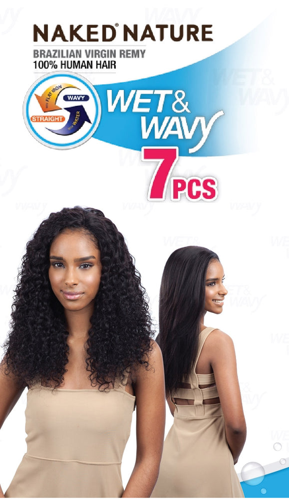 WET & WAVY DEEP WAVE 7PCS 14/16/18""