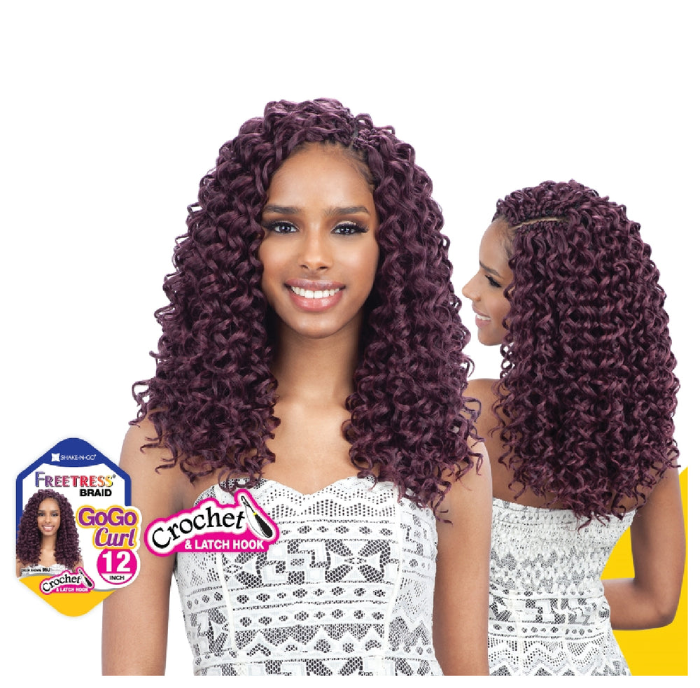 "FREETRESS GOGO CURL 12"" / CROCHET"